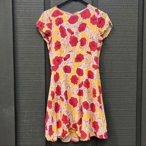 Cheerful floral & Other Stories mini dress
